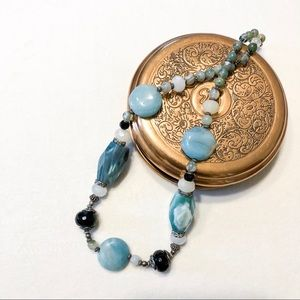 Jewelry - Blue Stone Necklace